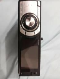 DVD H Buster com tela de 3 polegadas, controle e chicote novo.Revisado na autorizada