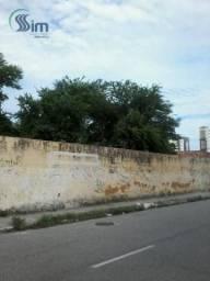 Terreno para alugar, 1224 m² por r$ 3.000/mês - papicu - fortaleza/ce