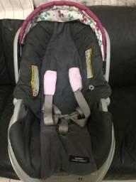 Carrinho, bebê conforto + base - Graco