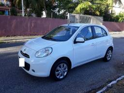 Nissan March S 1.0 Completo (Único dono) - 2014