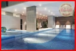 Apartamento com 3 dormitórios à venda, 95 m² por R$ 509.900,00 - Canto do Forte - Praia Gr