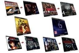 Coleção Resident Evil 10 Games Originais PS3