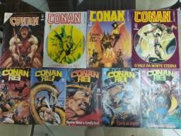 """Revistas coloridas """"Conan o Bárbaro"""" Raridade"""