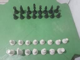 Peças de tabuleiro de xadrez