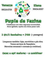 Faxina / diaristas / cozinheira
