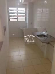 Apartamento com 2 dormitórios para alugar, 54 m² por R$ 900/mês - Bairro Das Graças - Coti