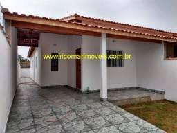Casa nova de 2 dormitórios sendo 1 suíte Balneário Gaivotas Itanhaém
