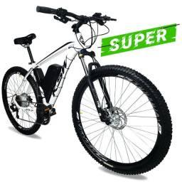 Bicicleta Elétrica T2 Super Aro 29 Bateria de LÍTIO 350 Watts