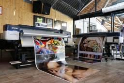 Impressão Digital Adesivo Lona Banner Papel de Parede - Por R$ 29,90 o metro quadrado