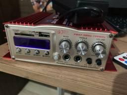 Vendo amplificador para karaokê