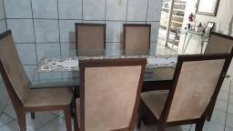 Mesa 6 cadeiras Semi Nova Açailandia-MA