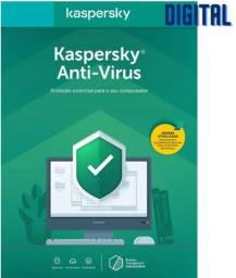 Antivirus Kaspersky - 1 Ano - 1 Usuário