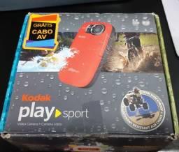 Câmera de ação Kodak Play Sport