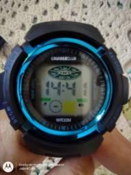 Relógio para ginástica e natação, acho...