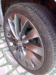 Rodas 17 , troco por rodas de liga aro 15