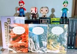 Trilogia O Senhor dos Anéis 3 livros