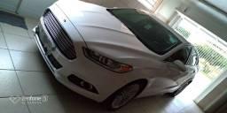 Ford/ Fusion Titanium 2.0 - 2014 c/ teto e assistente p/ estacionamento
