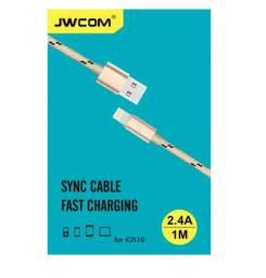 Cabo Dados Micro Usb Lightning 2.4 A 1 Metro Jwcom L101 Iphone