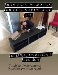 Melhor serviço de montagem em Goiânia e região