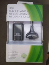 Bateria para controle Xbox 360