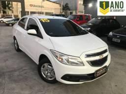 Chevrolet Prisma Lt 1.0 flex + Gnv Completo !!! 2015/2015
