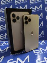 IPhone 11 Pro 64Gb Prata/Dourado - Seminovo - com nota e garantia, somos loja fisica
