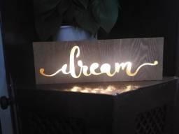 Luminária quadro - Dream
