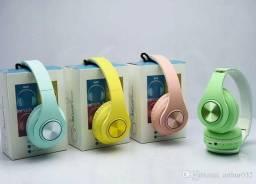 Fone de Ouvido InPods Boom Sem Fio Bluetooth Headphone Colorido Super Bass
