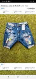 Bermuda jeans da titular original só 140 dúvidas