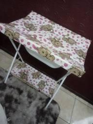 Trocador + cadeira de descanso