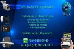 Câmeras de Segurança - Interfones - Vídeo Porteiro - Automatização de Portões - Alarmes