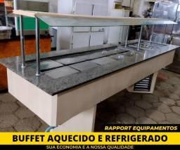 Buffet Aquecido e Refrigerado - Lanchonetes
