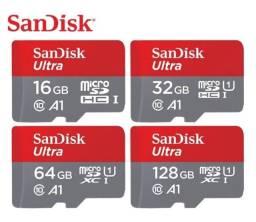 Cartão de Memória Micro SD Sandisk (Em Até 12x)