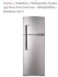 Refrigerador Brastemp Duplex Frost Free Inox 352 Litros