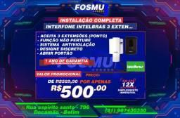 Título do anúncio: instalação Interfone Intelbras Instalado