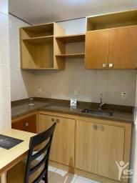 Flat mobiliado, 44 m², 01 vaga de garagem, Centro, Santo André