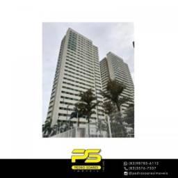 Apartamento com 2 dormitórios à venda, 58 m² por R$ 270.000 - Água Fria - João Pessoa/PB