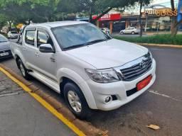Toyota Hilux CD SRV 2.7 Branco Flex Automática Apenas 56 Mil km. 2015