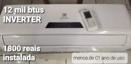 Título do anúncio: INVERTER Central de ar  Electrolux eco turbo 12 mil btus,  instalada