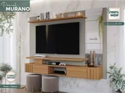 """Título do anúncio: Painel Murano em MDF para Tv até 60"""" (Novo) Promoçao<br><br>"""