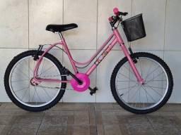 Bicicleta aro 20 reformada menina