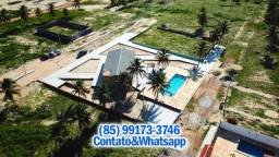 Título do anúncio: Lotes em Condomínio, Frente Dunas e Mar, Divisa da Praia do Guajiru