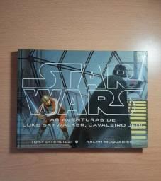 Título do anúncio: Livro Star Wars - Luke Skywalker, Cavaleiro Jedi