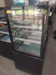 vitrine refrigerada ar forçado 60cm pronta entrega *douglas