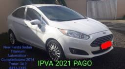 New Fiesta Sedan Titanium Automático
