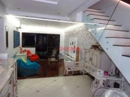 Título do anúncio: Cobertura com 2 dormitórios à venda, 165 m² por R$ 848.000,00 - Aparecida - Santos/SP