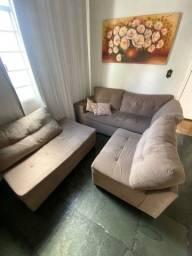 Sofá de 8 lugares + Puff