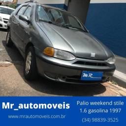Fiat Palio Weekend Stile 1.6 Cinza
