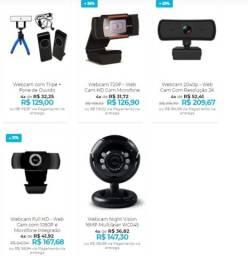 Webcam de Qualidade - Home office com uma web cam de primeira