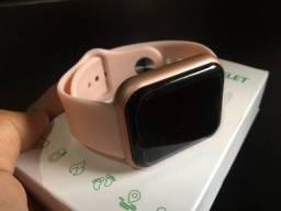 Relógio Inteligente/Smartwatch Y68/D20 Foto na tela, controle de música, versão FitPro